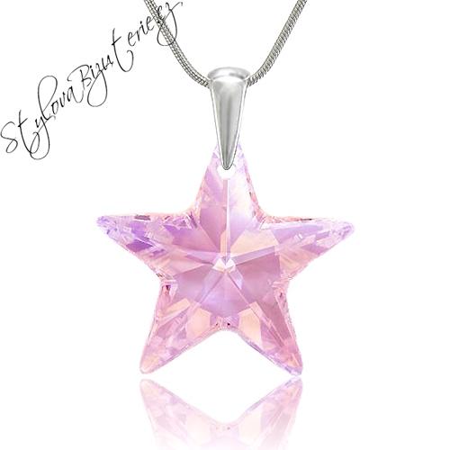 Swarovski Náhrdelník hvězda Rosaline AB Stříbrný náhrdelník s krystalem Swarovski v dárkové krabičce 658