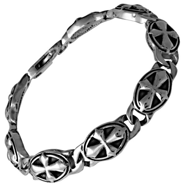 04f88f94a3 Náramek z chirurgické oceli KELTSKÝ KŘÍŽ - Kvalitní šperky.eu