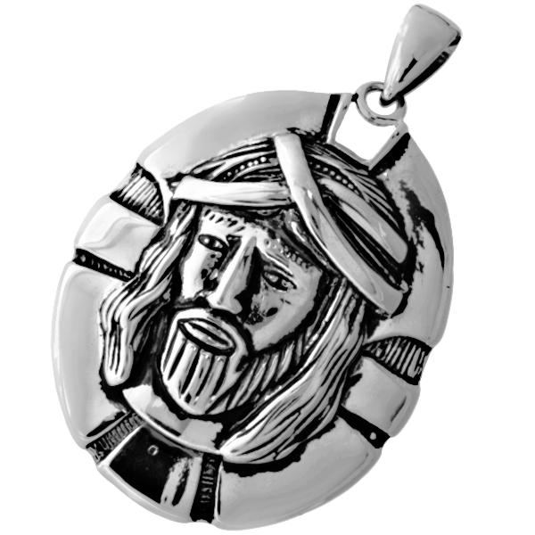 6b5bf41d6 Přívěsek z chirurgické oceli MEDAILON JEŽÍŠ - Kvalitní šperky.eu